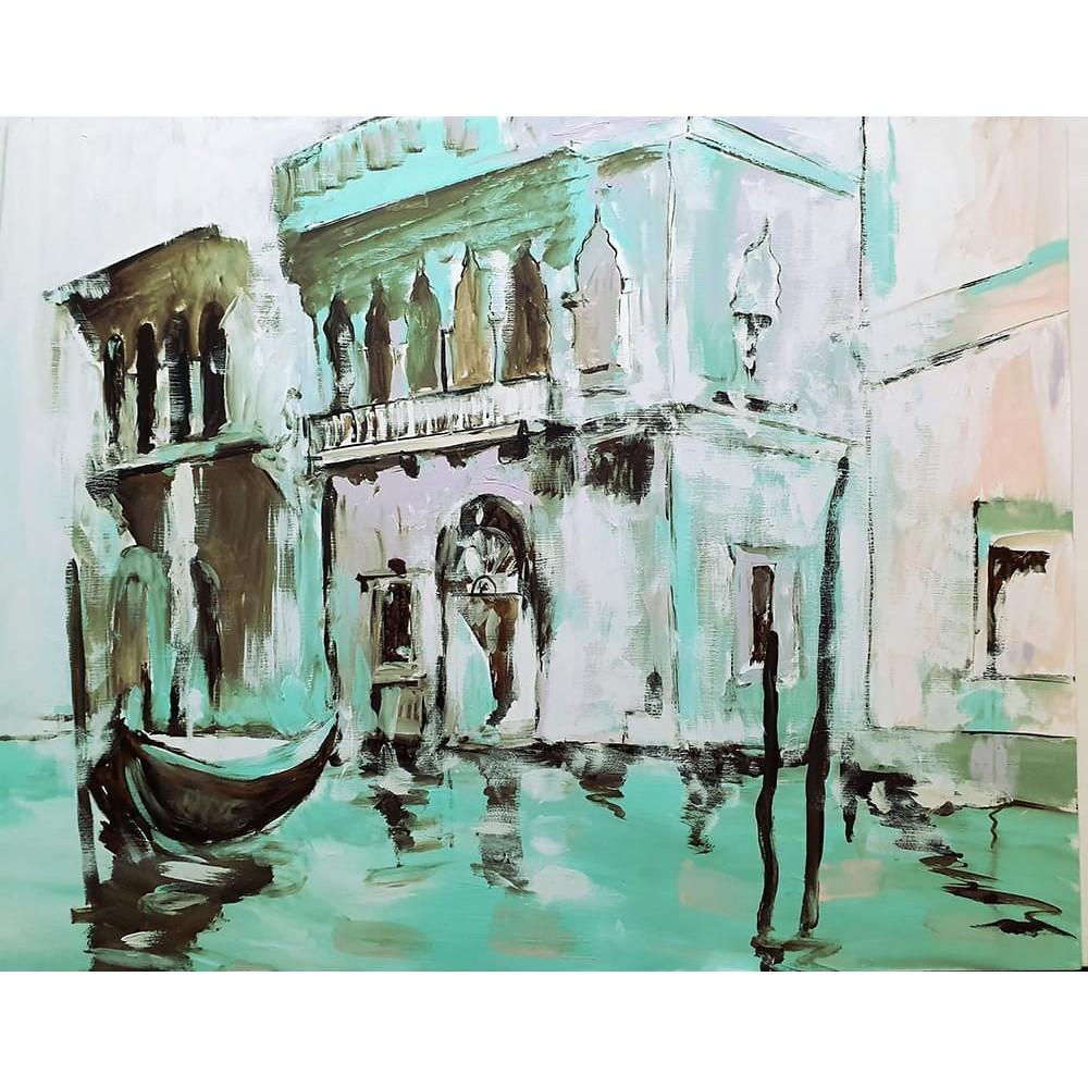 Vecchio Palazzo sul canale, Venezia