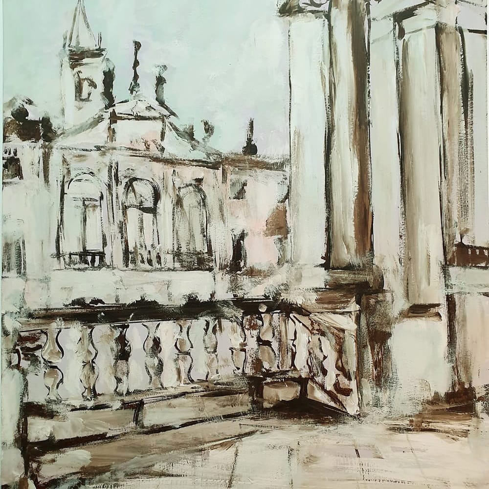 A Venezia dal balcone